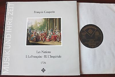 Couperin Les Nations I & Ii Lp Quadro Amsterdam Telefunken Sawt 9476 Nm Germany