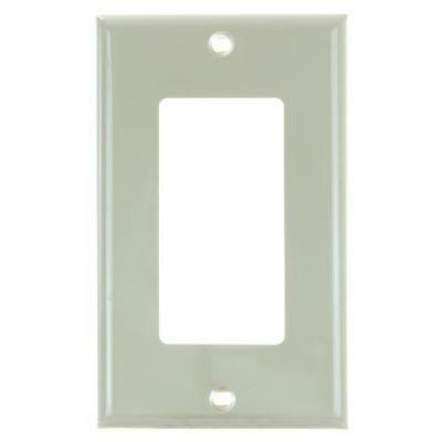 SUNLITE 1 Gang Decorative Plate - Ivory Color