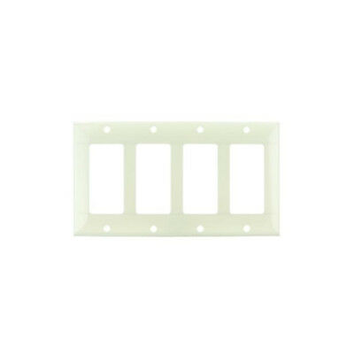 SUNLITE 4 Gang Decorative Plate Almond Color E304A