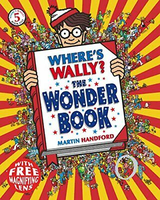 Where's Wally? The Wonder Book by Handford, Martin Paperback Book The Cheap Fast