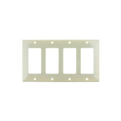 SUNLITE 4 Gang Decorative Plate Ivory Color E304I
