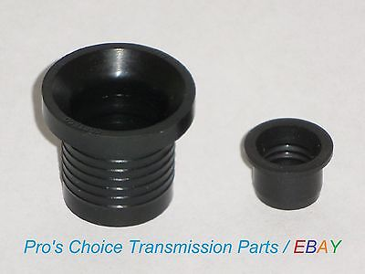 Filler Tube & Passing Gear Cable Boot Seal Kit--Fits TH350, TH350C Transmissions