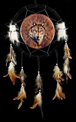 Dream Catcher - Lone Wolf - Dreamcatcher Fantasy Western Wolves