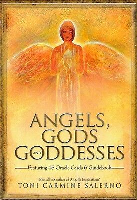 Angels, Gods & Goddesses (Oracle Cards) By Toni Salerno