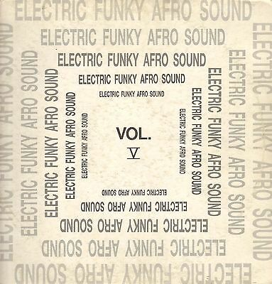 VARIOUS (ZAZA / JAMES BROWN / 3 MUSTAPHAS 3...) Electric Funky Afro Sound Vol V