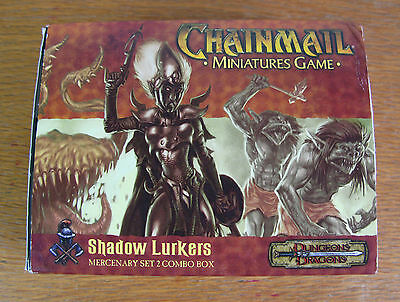 Shadow Lurkers - Mercenary Set 2 Dungeons & Dragons Chainmail Metal Miniatures