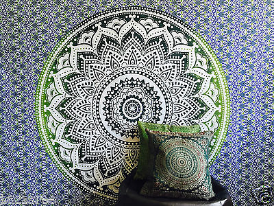 Indian Tapestry Wall Hanging Mandala Throw Hippie Gypsy Bohemian Dorm Ombre Twin