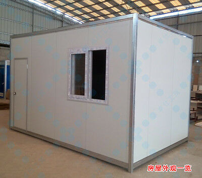 New Detachable 4mx2.5mx2.6m Container House Home Office Space Shipped by Sea