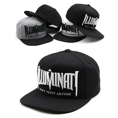 Unisex Mens Womens Boys Illuminati Eye Premier Baseball Cap Hiphop Snapback Hats