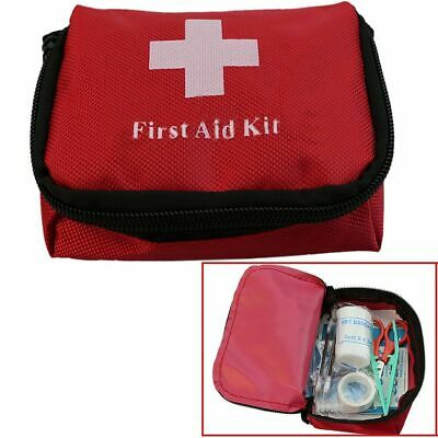Outdoor Camping Hiking Survival Bag Travel Emergency Rescue First Aid Kit