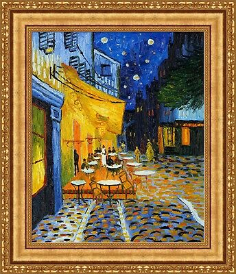 D5706 Vincent van Gogh Cafe Terrace Night Place du Forum Fine Art Print POSTER