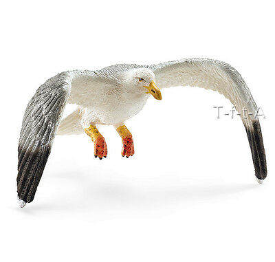 FREE SHIPPING | Schleich 14720 Seagull Bird Model  Figurine- New in Package