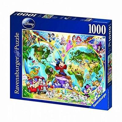 Ravensburger Disney World Map 1000 Piece Jigsaw Puzzle The Disney World Map 100