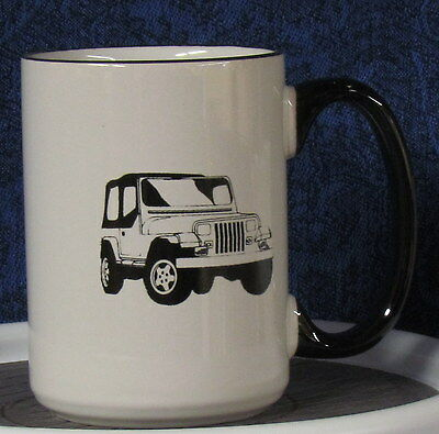 Wrangler Ragtop Coffee Mug - - - American Motors - - - Jeep - - - CJ