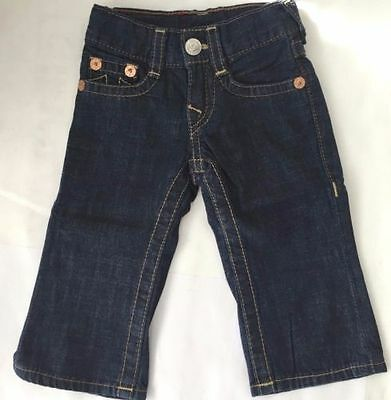 True Religion Baby Billy 12-18 Months Denim Jeans
