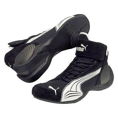 Puma Trionfo Race / Rally / Racing Boots / Shoes - Black - UK 10.5 / Euro 45