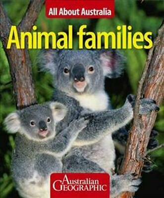 All About Australia: Animal Families by Paperback Book