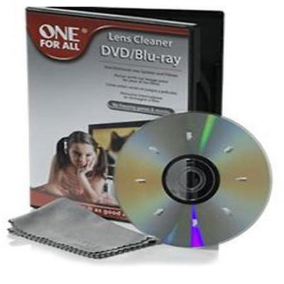 One For All Sv8350 Dvd/Blu-Ray Lens Cleaner Cleans Dvd Players & Dvd-Rom Player