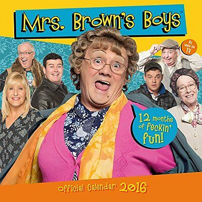 Official Mrs Browns Boys 2016 Square Wall Calendar New