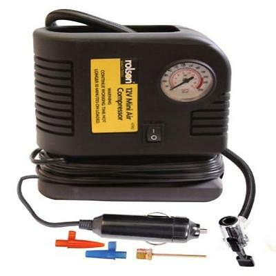 Rolson 42962 200Psi Mini Air Compressor Home Household Supplies Powered By 12V