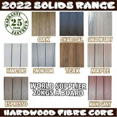 COMPOSITE EMBOSSED DECKING SOLID - 5400x130x18mm *Same colour modwood DECK