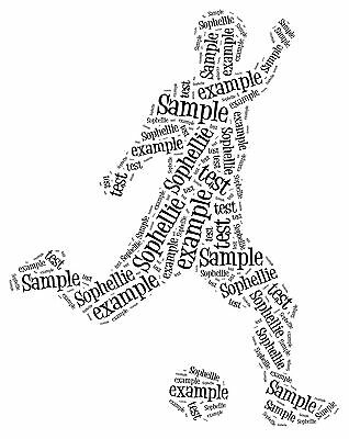 Football Word Art Gift picture