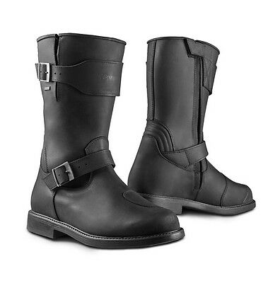 Stylmartin Legend Black Motorcycle Motorbike Leather Touring Boots   All Sizes