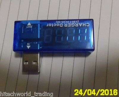 USB Ampermeter Lithium charger diagnosis USB Voltage