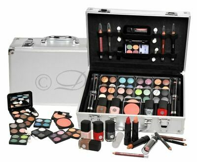 51-tlg Schminkset Alu-Design Schminkkoffer Make up Set