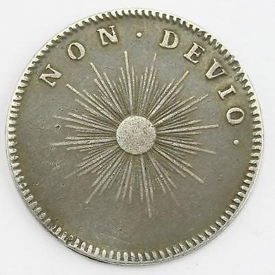 William III Undated Pattern Farthing Silver Medalet Roettier
