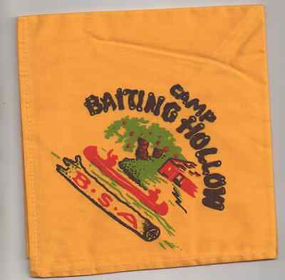 Boy Scouts -  vintage Camp Baiting Hollow  neckerchief
