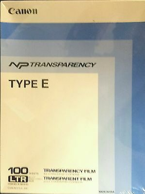 Cannon NP Transparency Type E - 1 Box