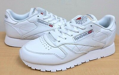 WOMENS REEBOK CLASSIC LEATHER 835 White/White