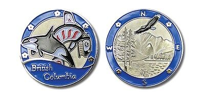 BC in Blue Collectible Coin