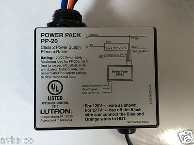 Pp 20 Lutron Power Pack New 25 00 Picclick