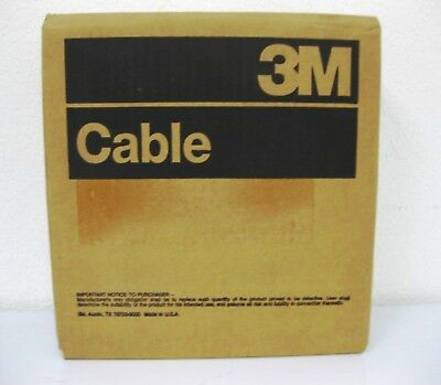 3M 3659/9 Round Flat Cable 100FT 9COND, 28AWG, 300V