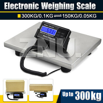 300KG X 0.1KG HEAVY DUTY DIGITAL PARCEL POSTAL Market Shop Scales Commercial