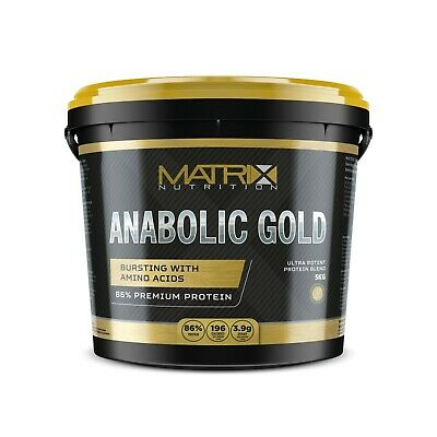 Matrix Nutrition | Anabolic Gold | All Flavours |All Sizes | Whey Protein Powder