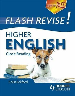 How to Pass Flash Revise Higher English (How To Pass - High... by Eckford, Colin
