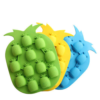 Pineapple Shape Ice Cube Freeze Mold Ice Maker Mould Drink Ice Tray Bar Party