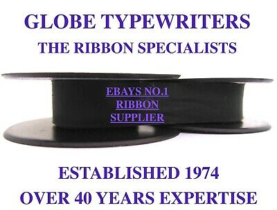 1 x 'SILVER REED SR12' *PURPLE* TOP QUALITY *10 METRE* TYPEWRITER RIBBON+EYELETS