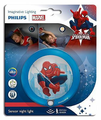 Philips Marvel Spider Man Led Motion Sensor Children Bedroom Wall Night Light
