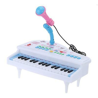 31 Keys Multifunctional Simulation Piano Toy with Microphone Gift for Kids U5A5
