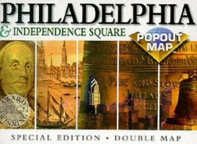 Philadelphia (USA PopOut Maps) by Compass Maps Sheet map Book The Cheap Fast