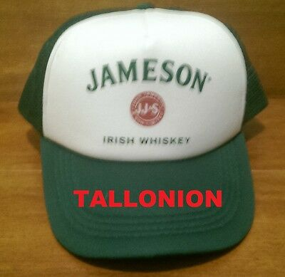 Jameson Irish Whiskey Snap Back Truckers Cap Official Product Brand New