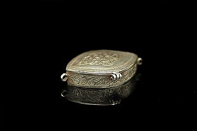 Antique Original Perfect Full Silver Islamic Amazing Box