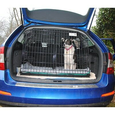 Pet World  SLOPING CAR DOG TRAVEL CAGE PUPPY SAFETY CRATE PET for SKODA OCTAVIA