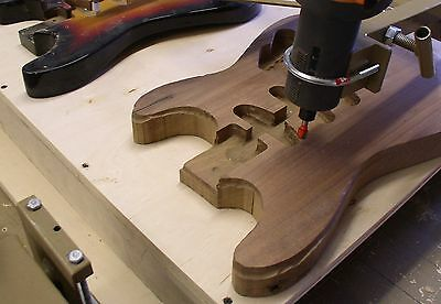 GUITAR CARVING DUPLICATOR, Will Carve Necks as well as All Instruments