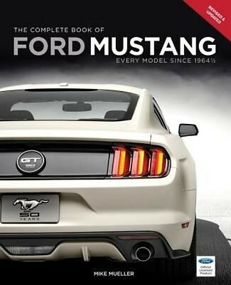The Complete Book of Ford Mustang by Mike Mueller Hardcover Book (English)