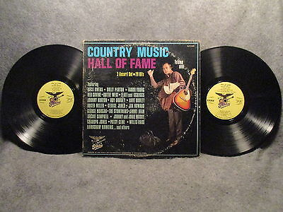 33 RPM LP (2) Record Set Country Music Hall Of Fame Volume 9 Starday SLP 9-449
